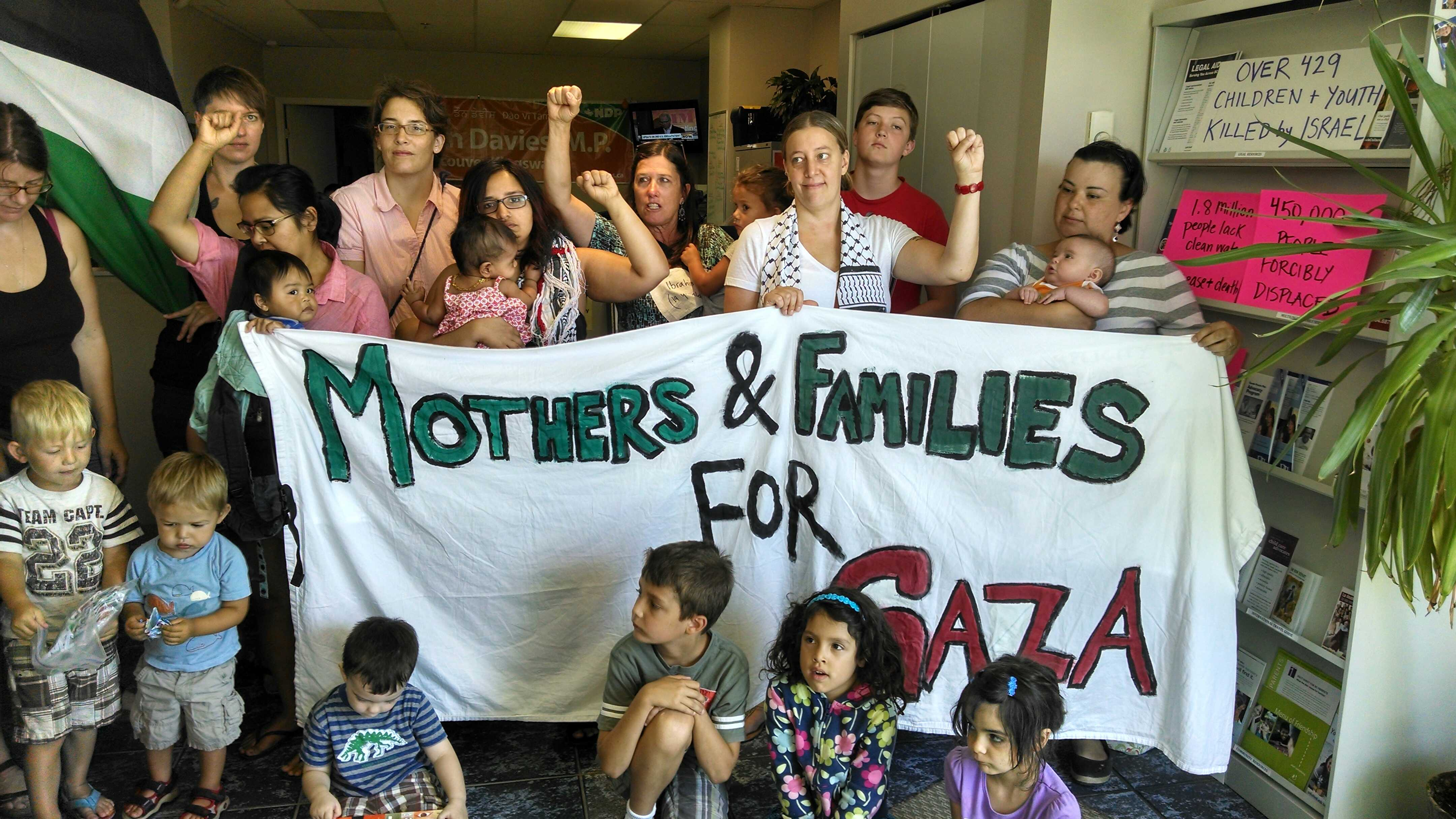 Photo: Mothers and Families for Gaza