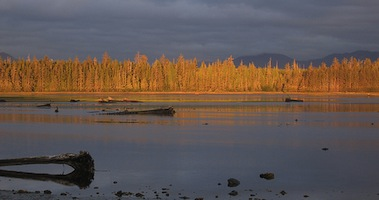 Haida Gwaii's Masset Inlet at dawn. (Photo: Jason Addy / flickr)