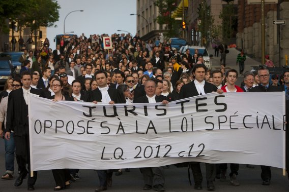Photo: André Pichette (Quebecprotest.com)