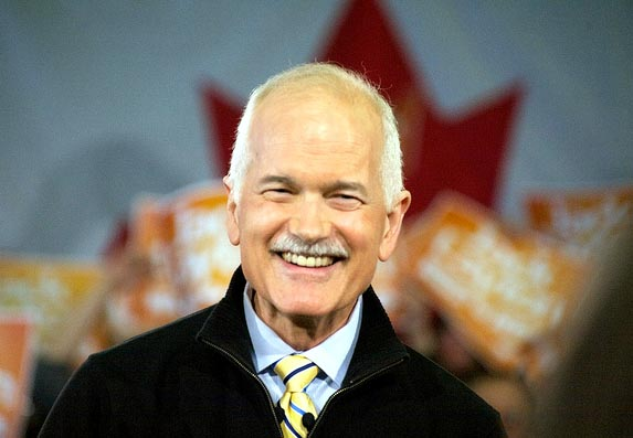 Jack Layton's excellent adventure: The election is now an historic opportunity for progressive Canadians and for the social movements to take a place in the mainstream of our politics. Photo: Matt Jiggins/Flickr