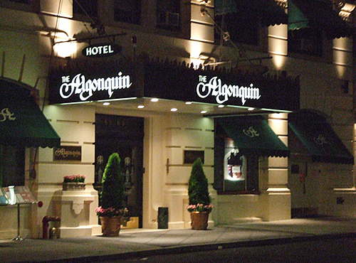 A cat's eye view of Manhattan culture from the legendary Algonquin Hotel.