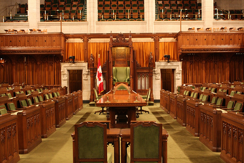 Canadian House of Commons. Photo: scazon/Flickr
