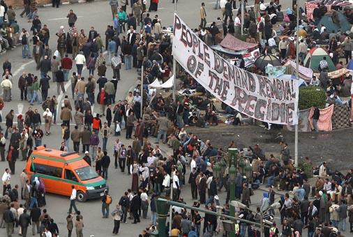 Tahrir Square, Cairo, Feb. 3, 2011. Photo: Al Jazeera English/Flickr