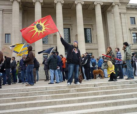 First Nations solidarity. Photo: Mary Kosta/Flickr