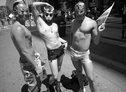 The annual Toronto Pride Parade was held Sunday afternoon. Photo: John Bonnar.