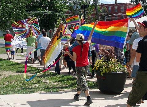 Just Love - Fredericton Pride, 2010. Photo: bbernd/Flickr