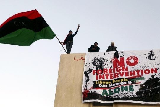 Banghazi, Libya, on February 28, 2011. Photo Al Jazeera/Flickr.