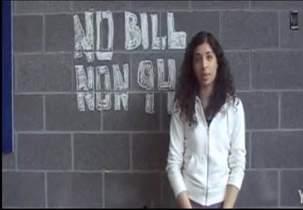 Listen to supporters of the No Bill 94 campaign speak out against the proposed ban of the niqab by the Quebec government.