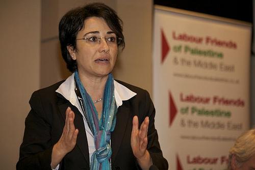 Haneen Zoabi MK. Photo: Palestine Solidarity Campaign