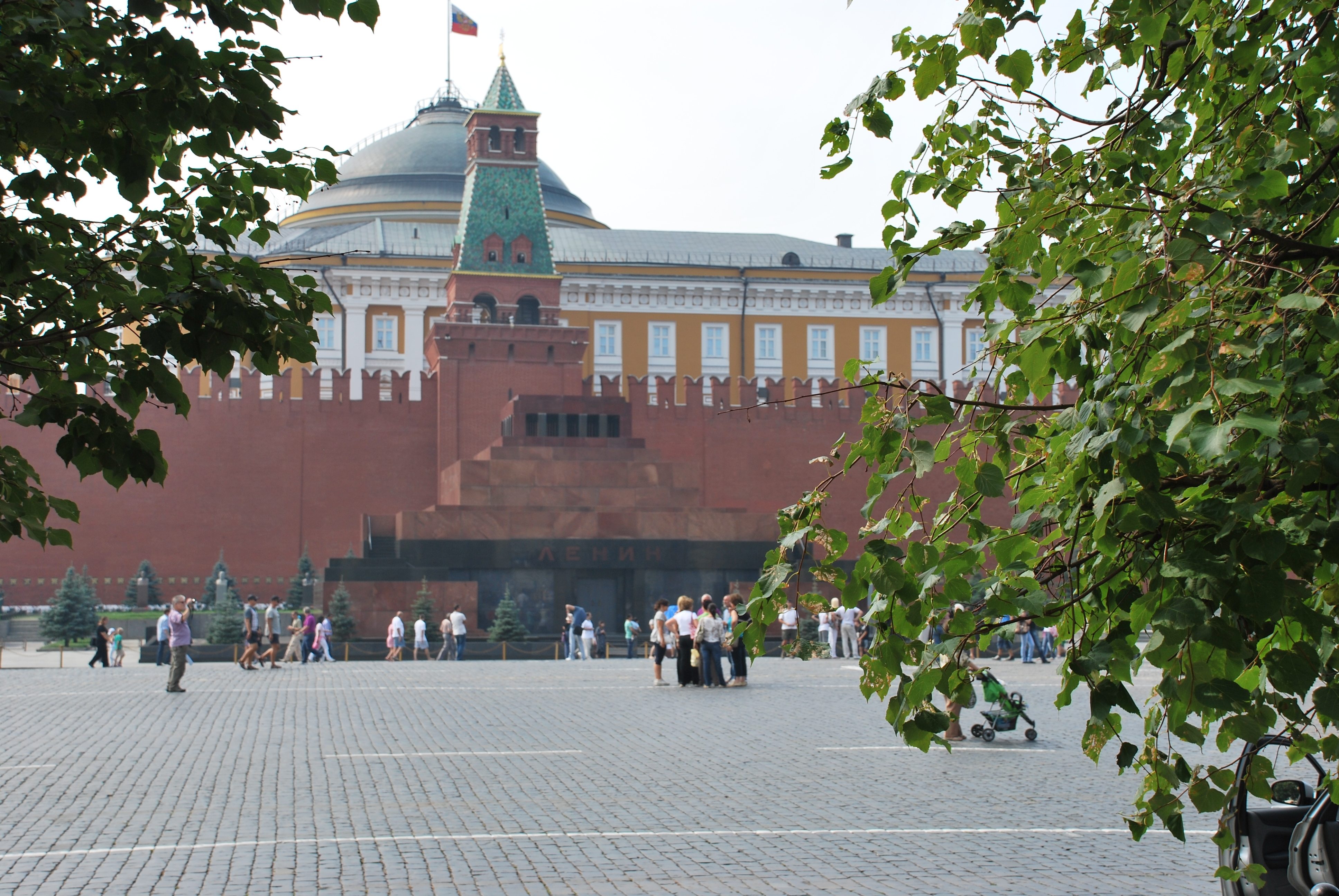 Lenin's Tomb in Moscow's Red Square. Photo: Ron Verzuh