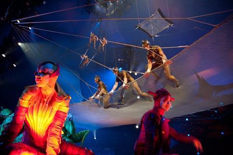 Cirque du Soleil presentation of OVO. Photo by  Ed Schipul