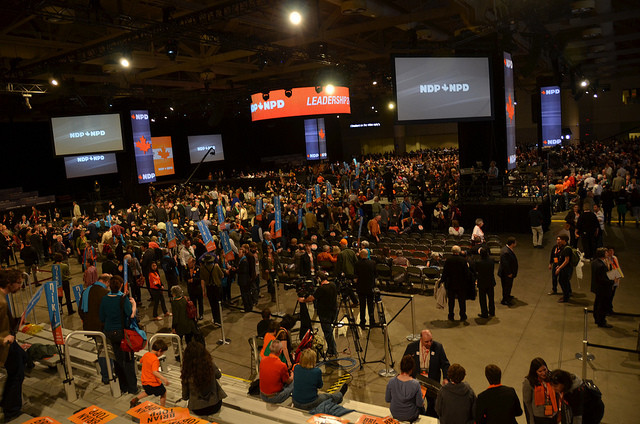 2012 NDP Leadership Convention. Photo: rabble.ca/Flickr