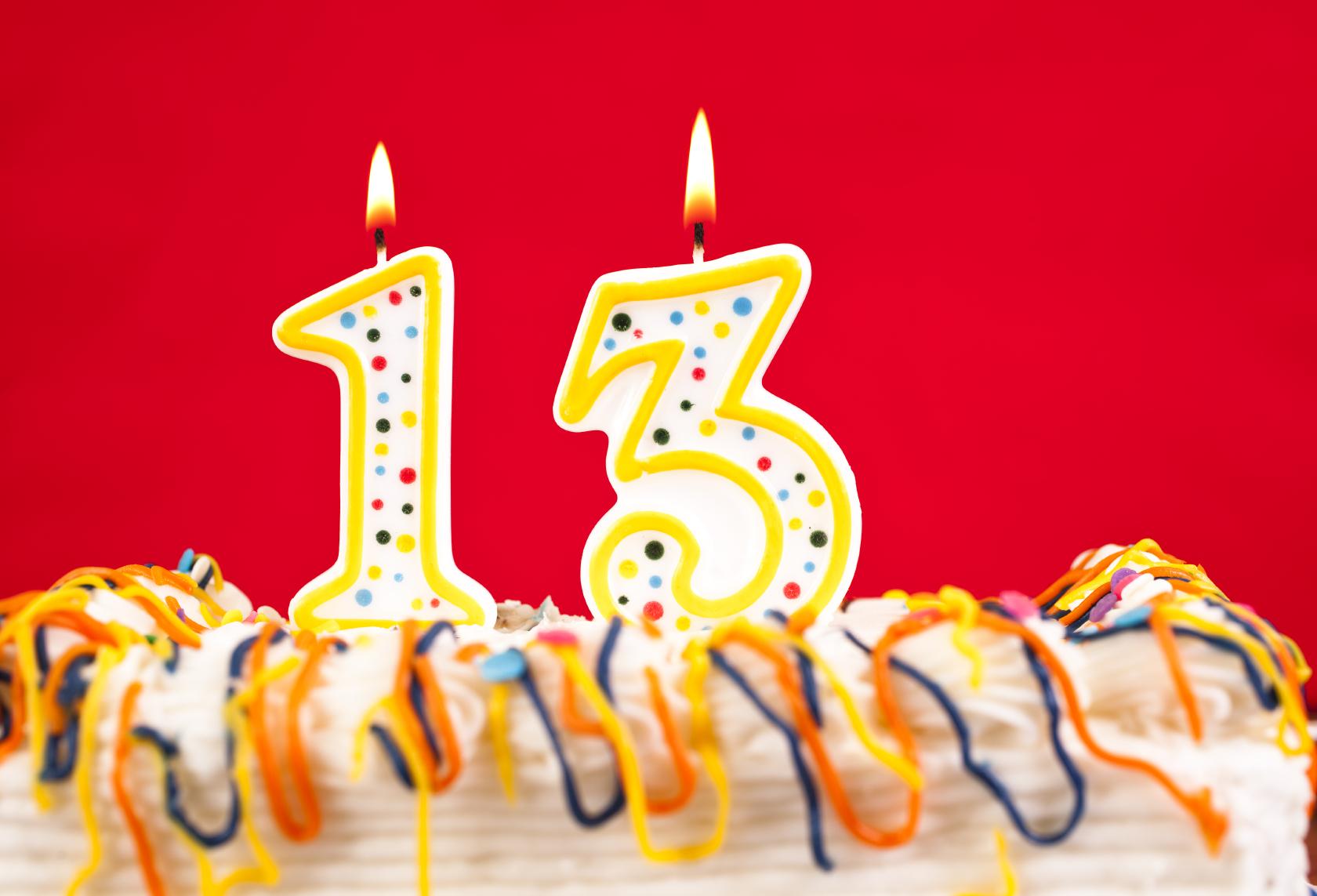 Поздравления с днем рождения 13 лет мальчику