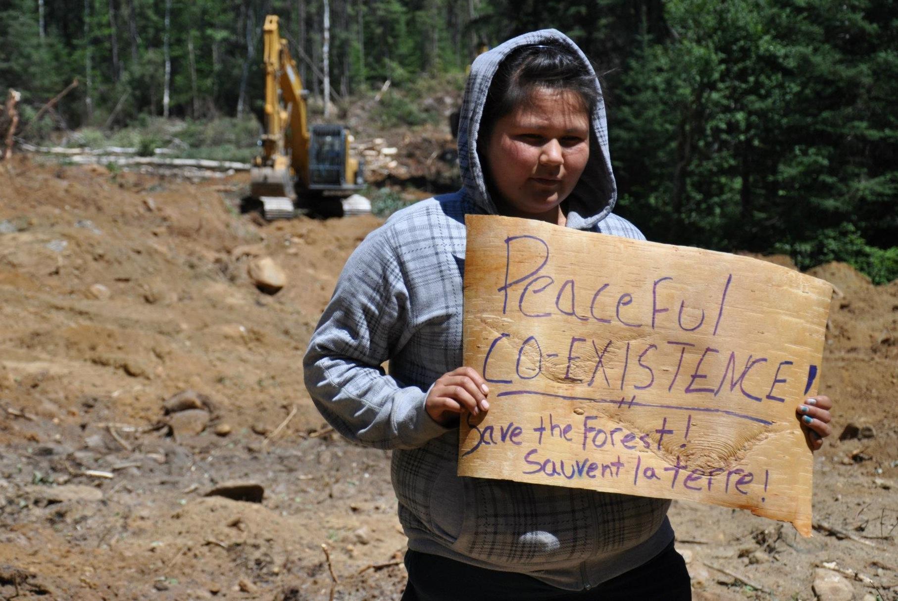 Photo: Indigenous Peoples Solidarity Movement Ottawa